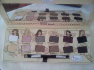 The Balm Nudetude Palette